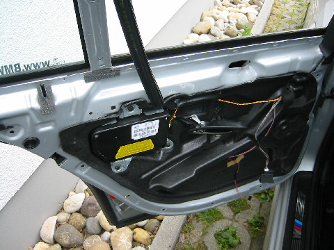 Bmw E39 Ausbau T 252 R T 252 Rverkleidung Hinten