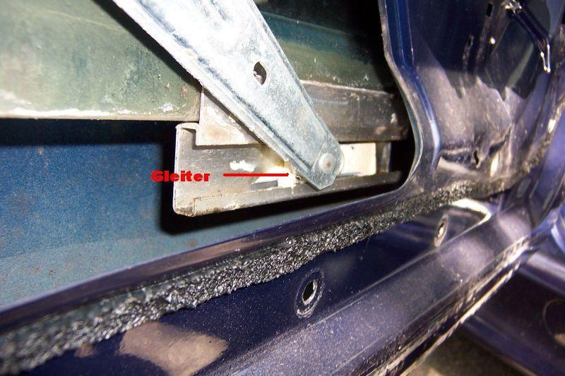 Wartung Der Fensterheber Und Gleiter Tauschen 3er Bmw